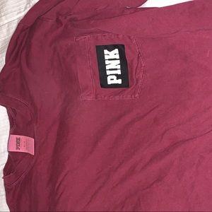 maroon vs pink shirt size medium